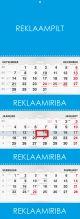 Trio Ekstra kalender reklaamiribadega